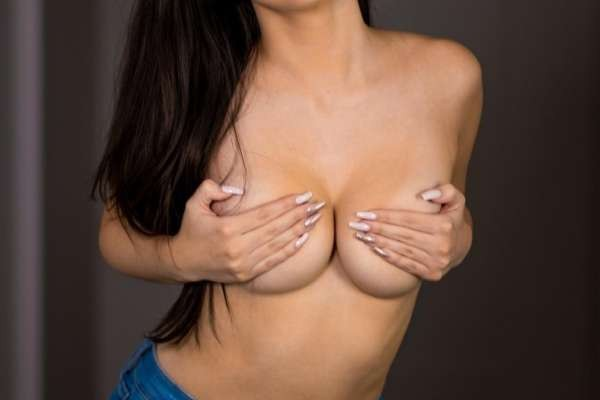 Mikaela Pascal Nude Topless Photos