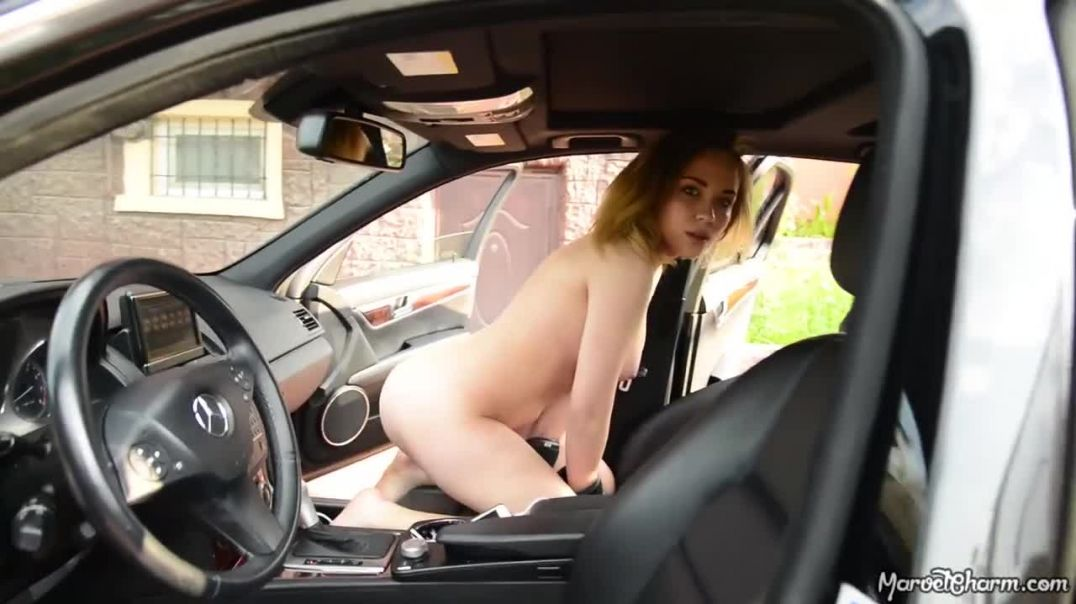 Marissa Knock Out nude in car video leaked